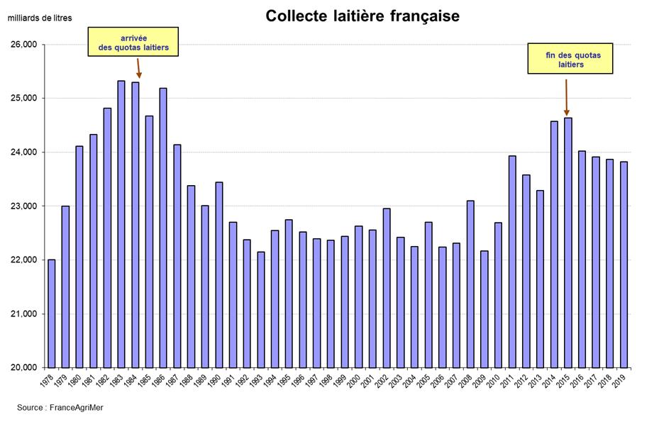 11 - Collecte laitière française