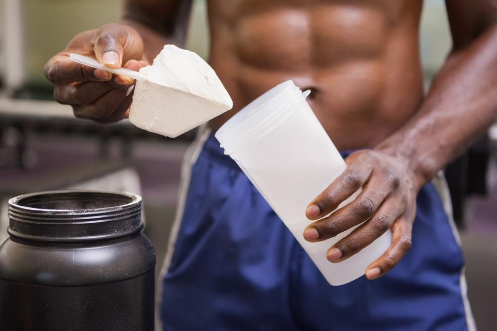 poudre pour boisson protéinée